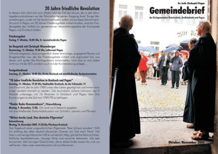 Gemeindebrief Kirchspiel Pegau